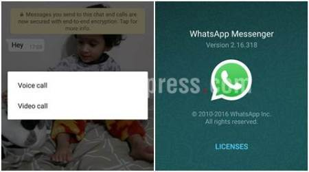 WhatsApp beta for Android starts receiving video calling feature
