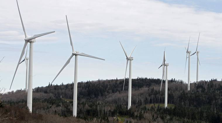 vermont, wind power, world news, noise pollution, indian express,
