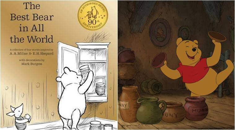 winnie the pooh, pooh, winnie the pooh birthday, pooh 90, pooh 90th birthday, aa milne, Christopher robins, pooh books, pooh movies, pooh new book, pooh movies, pooh new character, books news, literature news, children classic, latest news, lifestyle news, indian express