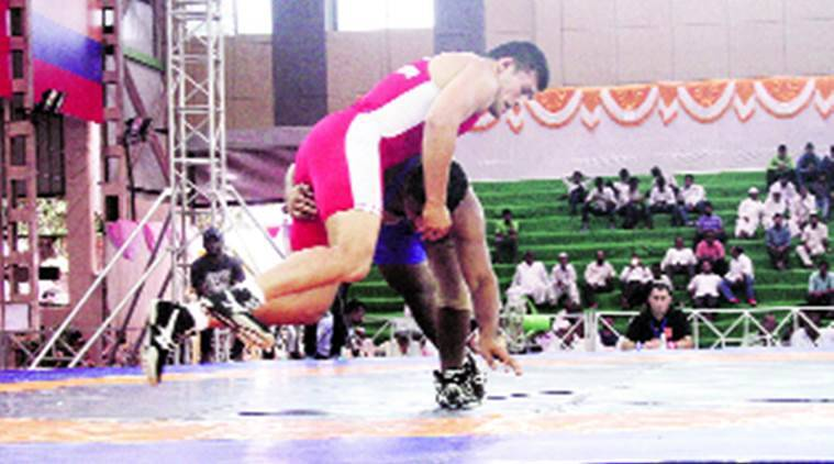 Pune Mayor's Trophy International Invitational Wrestling, bajrang, pune wrestling, india wrestling, pune wrestler bajrang, sports news, indian express news