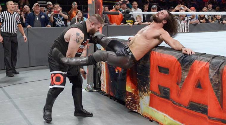 WWE, WWE Raw, WWE Raw results, kevin owens, seth rollins, chris jericho, wwe raw october 24, wwe hell in a cell, hell in a cell, goldberg, brock lesnar, wwe news, sports, sports news