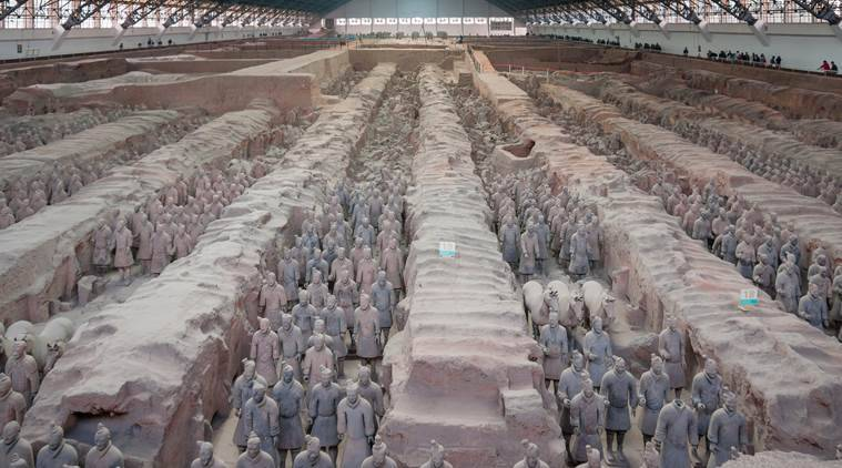 Terracotta army, Chinese terracotta army, Greek empire, ancient China, ancient Greece, world news, research, Indian express