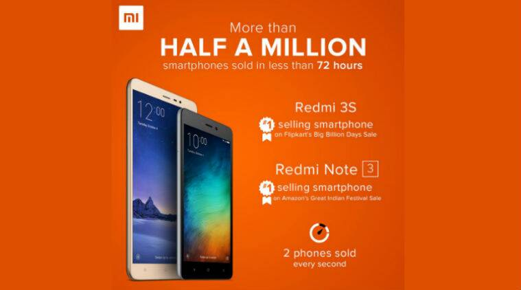 Xiaomi, Xiaomi discounts, xiaomi diwali discounts, xiaomi mi 5 discount, xiaomi Redmi note 3 discount, xiaomi mi bank discounts, diwali electronics discounts, Mi products, manu kumar jain, amazon, flipkart, snapdeal, big billion days sale, great indian festival, technology news, indian express