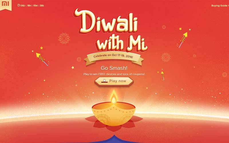 Xiaomi, Xiaomi Diwali Sale, Xiaomi Diwali sale Re 1, Diwali sale Xiaomi offers, Xiaomi offers, Xiaomi Diwali sale Re 1 flash sale, Redmi Note 3 discount, Redmi 3S Prime sale, Xiaomi Redmi 3S Prime at Re 1, Redmi Diwali sale