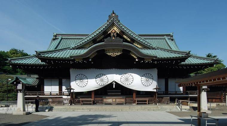 yasukini shrine, japan shrine, japan yasukini shrine, japan war dead shrine, south korea, world news