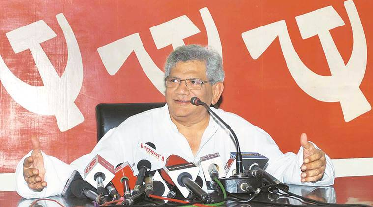 sitaram yechury, yechury on demonetisation, yechury on notes ban, cpim yechury, currency ban, 1000 notes ban, india news