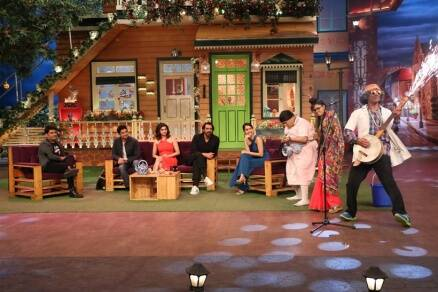 The Kapil Sharma Show replaces its entire cast as Rock On 2 comes calling