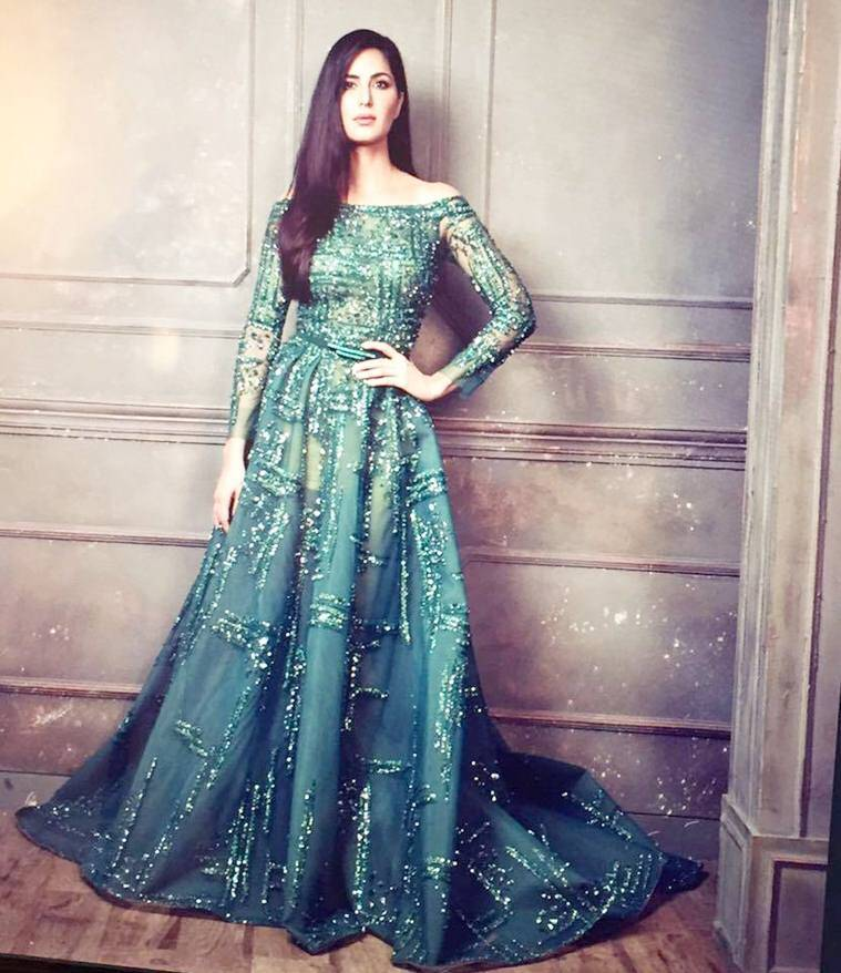 Aishwarya or Katrina, who slayed the embellished green ...