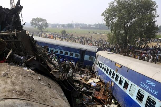Indore Patna Express derails: Over 120 killed, 200 injured