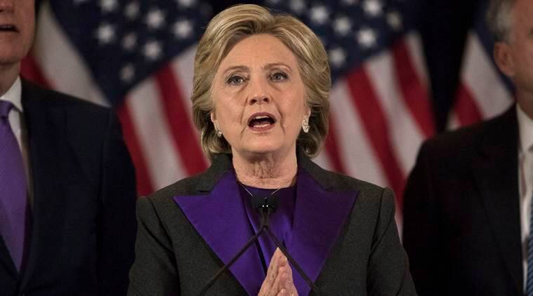 Hillary Clinton,Hillary Clinton Loses,Donald Trump wins,Hillary Clinton on loss, US president election 2016, Hillary Clinton shock defeat, world news, indian express news