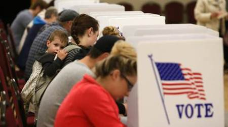 US Senate control on knife's edge in voting for Congress