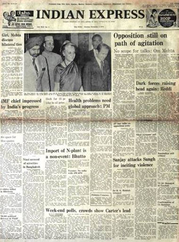 indira gandhi, emergency, jaiprakash narayan, mao zedong, india news, indian express
