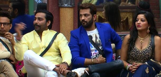 Bigg Boss 10 Weekend Ka Vaar, Bigg Boss 10 Salman Khan episode, Bigg Boss, Bigg Boss 10, Bigg Boss 10 Salman Khan, Bigg Boss 10 Salman Khan Navin Prakash, Bigg Boss 10 Karan Mehra, Bigg Boss evictions, Bigg Boss 10 Lokesh Kumari, Bigg Boss 10 Rahul Dev, Karan, Rohan, Bigg Boss 10 weekend episode, Indian Express, Indian Express Video, Indian Express News