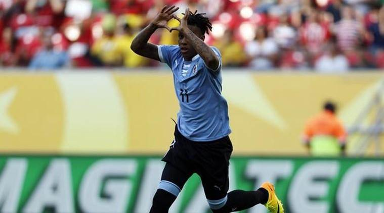 Abel Hernandez, Hernandez, Hernandez injury, Abel Hernandez Uruguay , Uruguay vs Ecuador , Uruguay vs Ecuador World Cup qualifiers, football news, Football