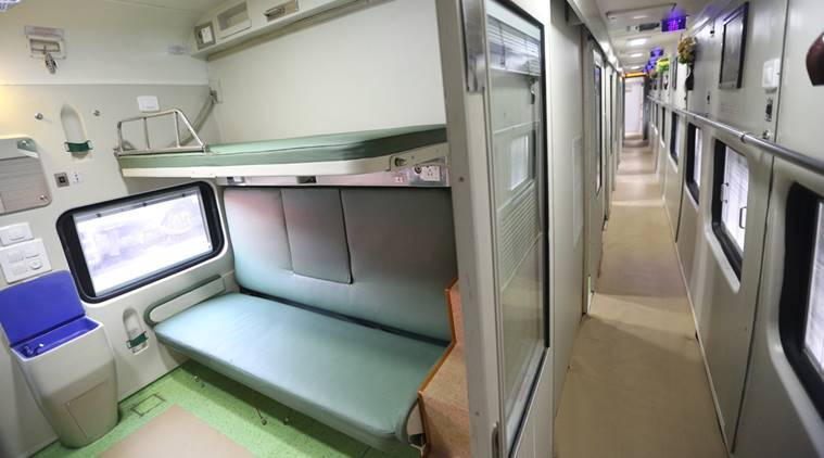 Indian Railways, AC 3 tier coach, AC 3 train, AC 3 coach, CCTV in AC 3 tier, AC 3 tier renovated, AC 3 tier coaches new, india news