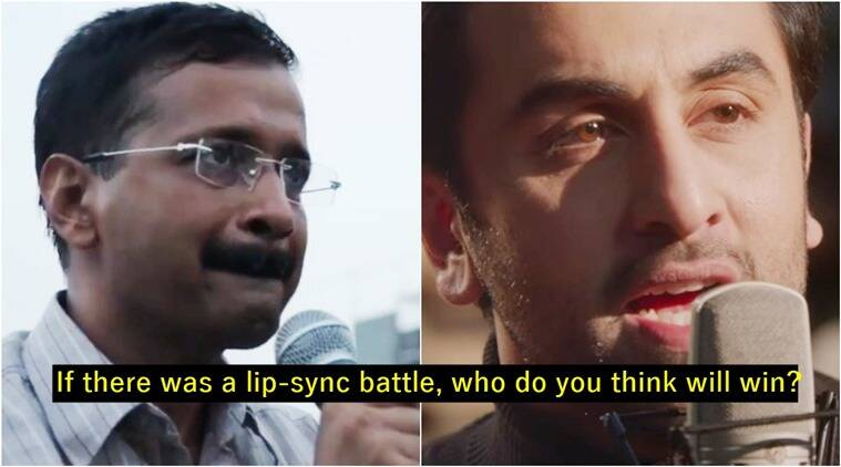 arvind kejriwal, adhm, ae dil hai mushkil, ranbir kapoor, arvind kejriwal singing ae dil hai mushkil, kejriwal sings adhm, kejriwal viral videos, indian express, trending, viral videos, viral in india, indian express news