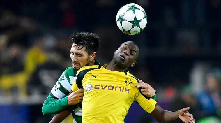 Borussia Dortmund 1-0 Sporting: Ramos header sends BVB through