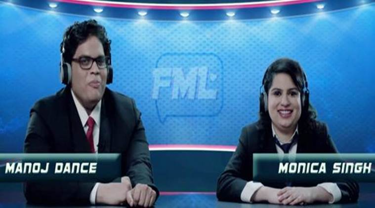 Tanmay Bhat and Mallika Dua in AIB's latest video