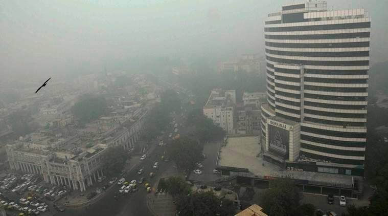 Pollution in Delhi Source: http://indianexpress.com/article/india/india-news-india/punjab-has-no-role-delhi-air-pollution-due-to-diwali-says-ppcb-chief-3740999/