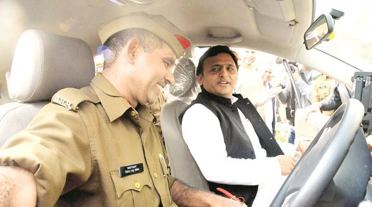Akhilesh Yadav, Uttar Pradesh Polls, Uttar Prdesh news, India news, Latest news, India news, UP-100 Police Emergency Management System, India news