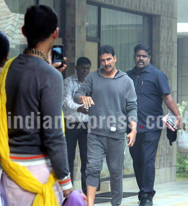 Akshay Kumar, toilet ek love story sets