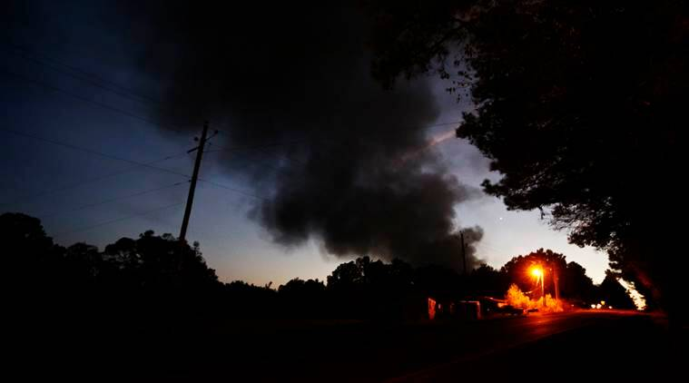 US pipeline explosion, pipeline blast, Alabama pipeline blast, Colonial Pipeline blast, Colonial Pipeline, Alabama news, US news, world news, latest news, indian express