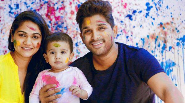 Actor Allu Arjun's wife Sneha Reddy gives birth to a baby girl