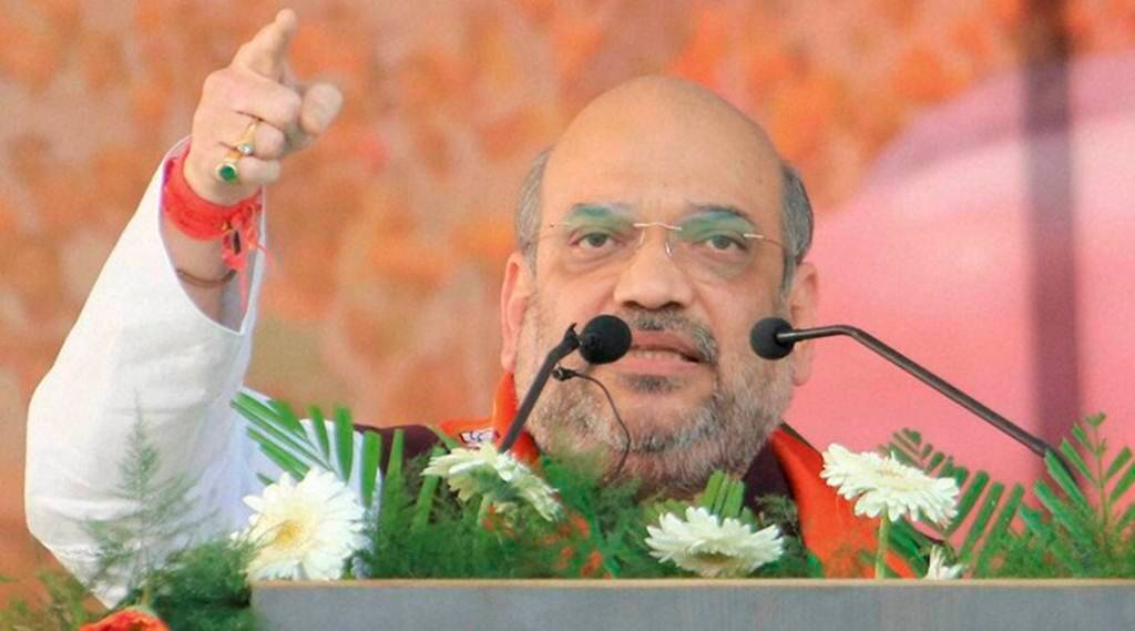 UP election, BJP amit shah, Amit Shah BJP, UP polls, BJP up elections, Rajnath Singh, UP cm, Lucknow, SP, Samajhwadi Party, indian express news