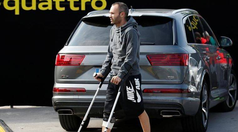 Barcelona, Andres Iniesta, Iniesta, Iniesta injury, Real Sociedad, Barcelona vs Real Sociedad, Barca vs Sociedad, Football news, Football