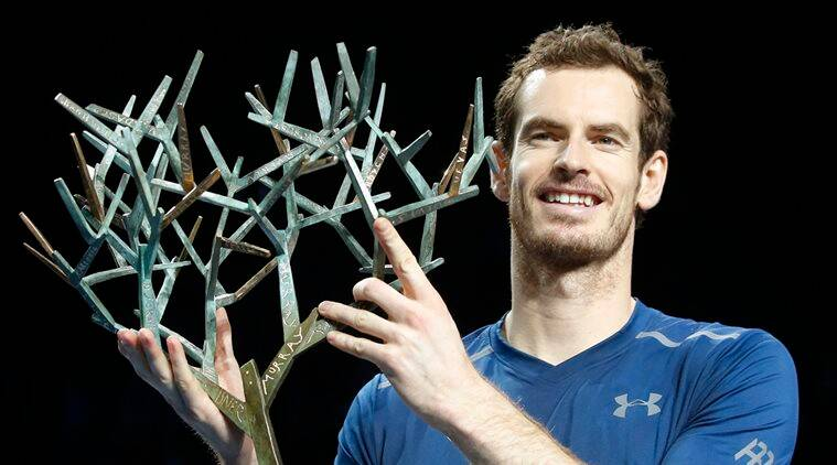 Andy Murray, Andy Murray Paris Masters, Andy Murray Paris Masters title, Murray Paris masters title, Murray paris, Sports News, Tennis News, Tennis