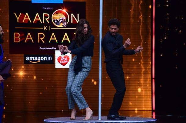 Shah Rukh Khan, Anushka Sharma discuss their dosti on Yaaron Ki Baraat