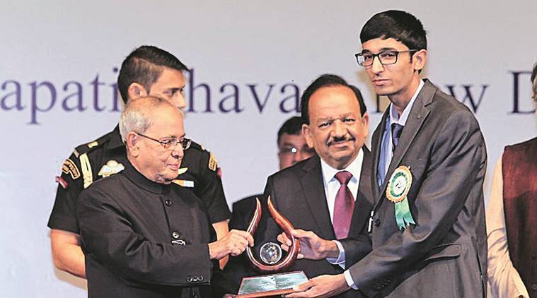 Dr APJ Abdul Kalam IGNITE award, National Innovation of India, science and technology award, Chandigarh boy, Chandigarh news, India news, latest news, indian express