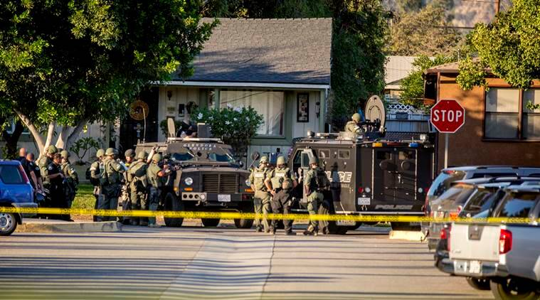 California shooting, Carolina poll booth shooting, US presidential elections, California poll site lockdown, news, latest news, US news, California news, world news, international news