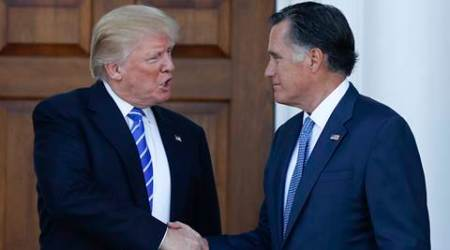 Donald Trump aide steps up bid to block possible Mitt Romney nomination for Secy ofState