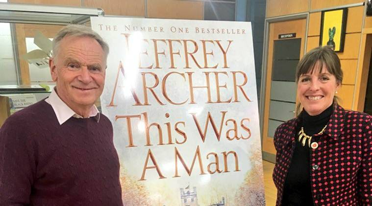 Jeffrey Archer, Clifton chronicles, This was a man, archer india visit, Jeffrey H. Archer, author, novel-writer, books, indian express news