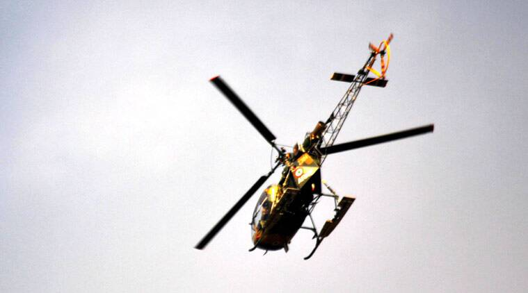 Army Helicopter Crashes in Sukna, Three Officers Dead