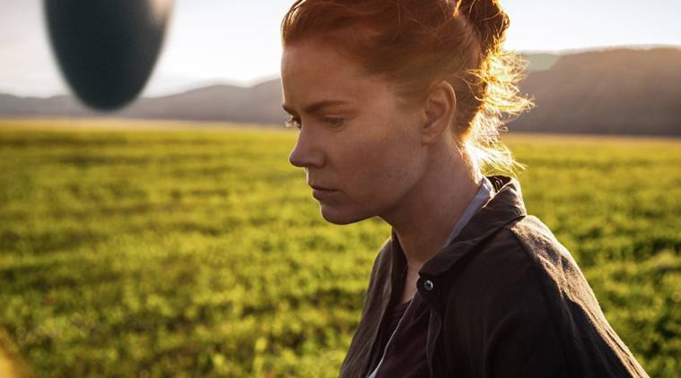 Arrival, Arrival movie, Arrival movie review, arrival review, arrival star rating, Arrival movie cast, Arrival movie science fiction, sceince fiction Arrival movie, science fiction Arrival, arrival rating, Amy Adams, Amy Adams arrival, arrival Amy Adams, Denis Villeneuve, entertainment news, indian express, indian express news