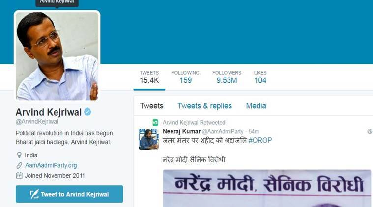 Arvind Kejriwal actually live-tweeted his detention