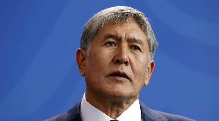 Kyrgyzstan president, Kyrgyzstan opposition, Almazbek Atambayev, Kyrgyz president impeachment, Kyrgyzstan politics, Kyrgyzstan news, world news, latest news, indian express