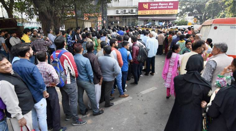 Demonetisation, Demonetisation effects, Demonetisation banks, Bank queues, ATM, ATM queues, Demonetisation delhi, currency demonetisation, demonetisation news, india news, indian express news