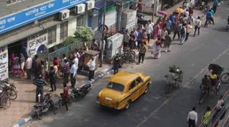 cash, cash exchange, demonetisation, 500 rs note, 2000 rs note, Rs 500 note, ATMs, Kolkata ATMs, Kolkata news, India news
