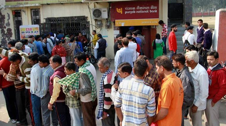 demonetisation, Narendra Modi,  queues, banks, Raipur Rani, Barwala, school cancel, demonetisation schools, news, latest news, India news, national news