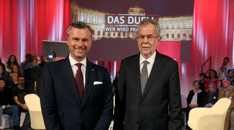 Austrian Presiedential Debate, Austrian Presidential debate news, Latest news, Internationla news, World news, First Austrian Presidential debate
