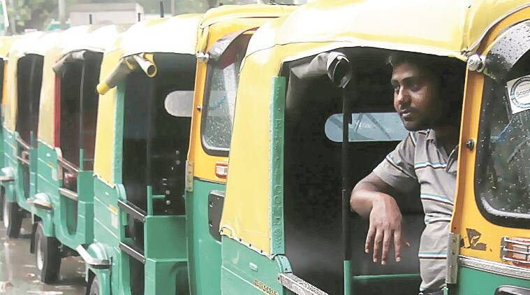 auto drivers, delhi auto drivers, Aam Aadmi Party, delhi news, indian express,  AAP government, letter of intent