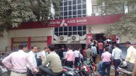 Axis Bank, private bank, Demonitisation, bank officials arrested, conversion of old currency, enforcement directorate, India