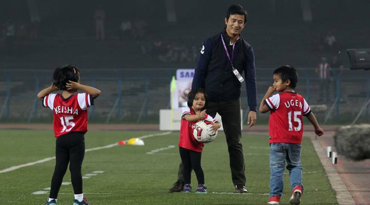 baichung bhutia, india u 17s, india vs brazil u 17s, india u 17 world cup, india world cup, india football, aiff, praful patel, football news, sports news
