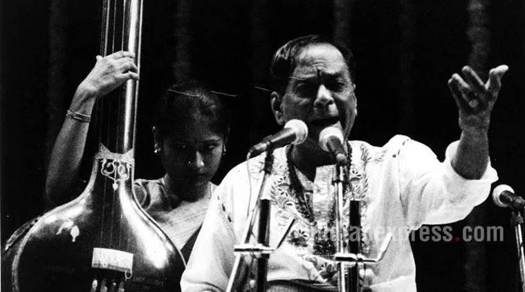 balamuralikrishna, m balamuralikrishna, balamuralikrishna songs, balamuralikrishna compositions, balamuralikrishna songs, balamuralikrishna thillana, balamuralikrishna kritis, balamuralikrishna and kishori amonkar, tm krishna sings balamuralikrishna compositions, balamuralikrishna dead, balamuralikrishna tribute, balamuralikrishna memory, indian express, indian express news