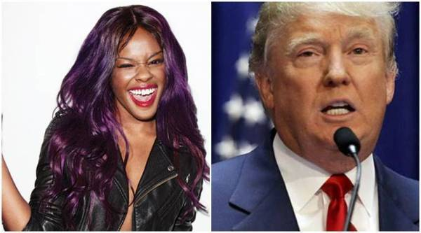 azealia banks, azealia banks donald trump, azealia banks us president, azealia banks donald trump, donald trump hollywood celebrities, azealia banks instagram, azealia banks beyonce, azealia banks jay z, azealia hillary clinton, donald trump hollywood, hollywood news, indian express news, indian express