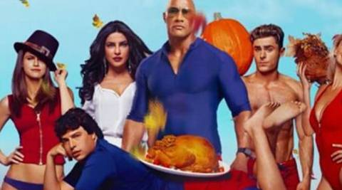 Baywatch new poster: Priyanka Chopra, Dwayne Johnson give us something to be thankful for, see pic