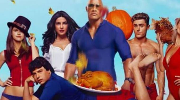 Baywatch, Baywatch movie, Baywatch new poster, Baywatch cast, priyanka chopra, priyanka chopra baywatch, baywatch priyanka chopra, priyanka chopra news, priyanka chopra movies, priyanka chopra actor, entertainment news, indian express, indian express news